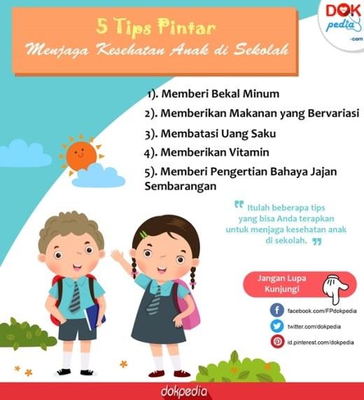 tips menjaga kesehatan anak di sekolah