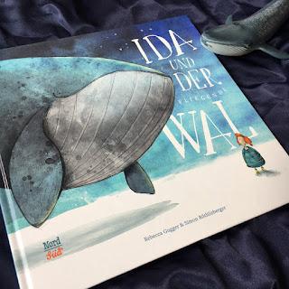 Rezension zum Bilderbuch Ida und der fliegende Wal NordSüd Verlag