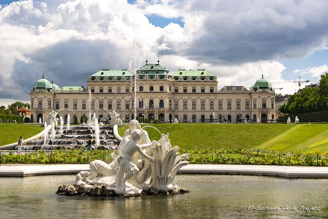 Belvedere Alto - Viena por El Guisante Verde Project
