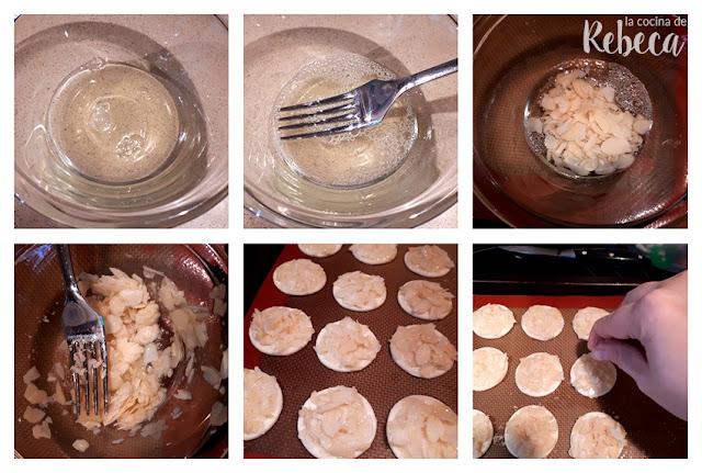 Receta de pastas rápidas y fáciles de almendra: la elaboración