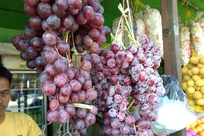 Harga Anggur Merah Australia Hari ini Rp. 60.000 per Kilo