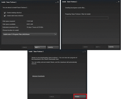 Cara Install Game Gratis di Steam (Dota 2, Team Fortrees, Dll)