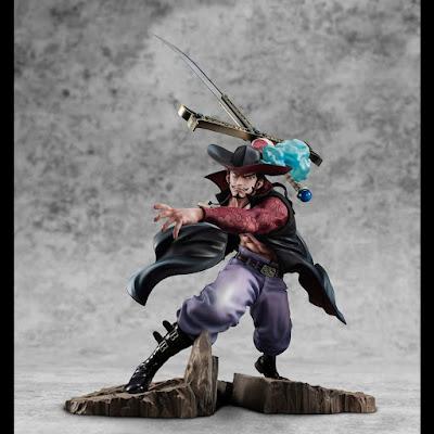 """Figuras: Imágenes de la nueva P.O.P de Dracule Mihawk de """"One Piece"""" - Megahouse"""
