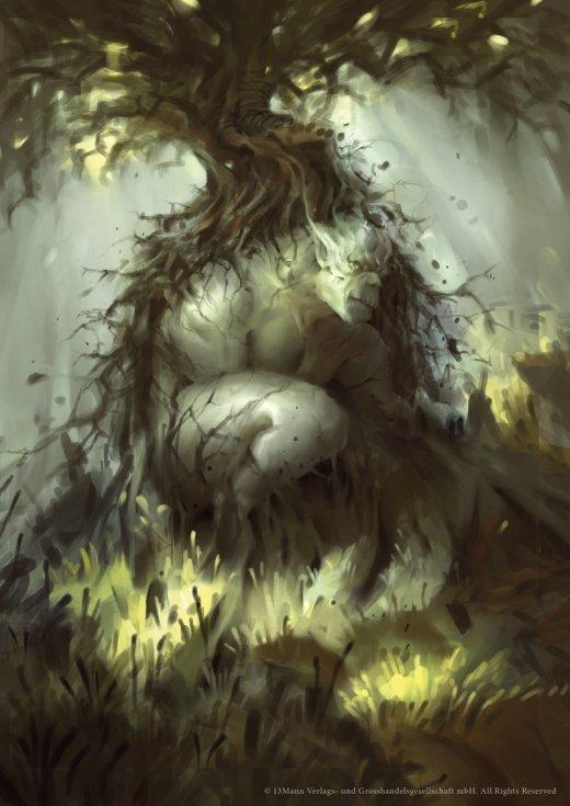 Nele Diel deviantart artstation ilustrações fantasia sombria