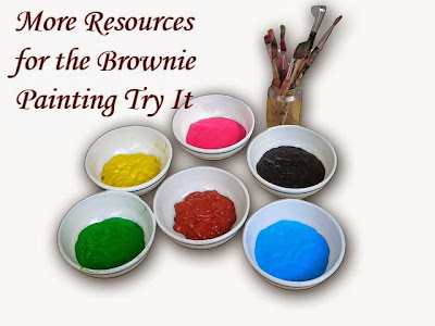 Leader Resources for the Brownie Girl Scout Painting Badge
