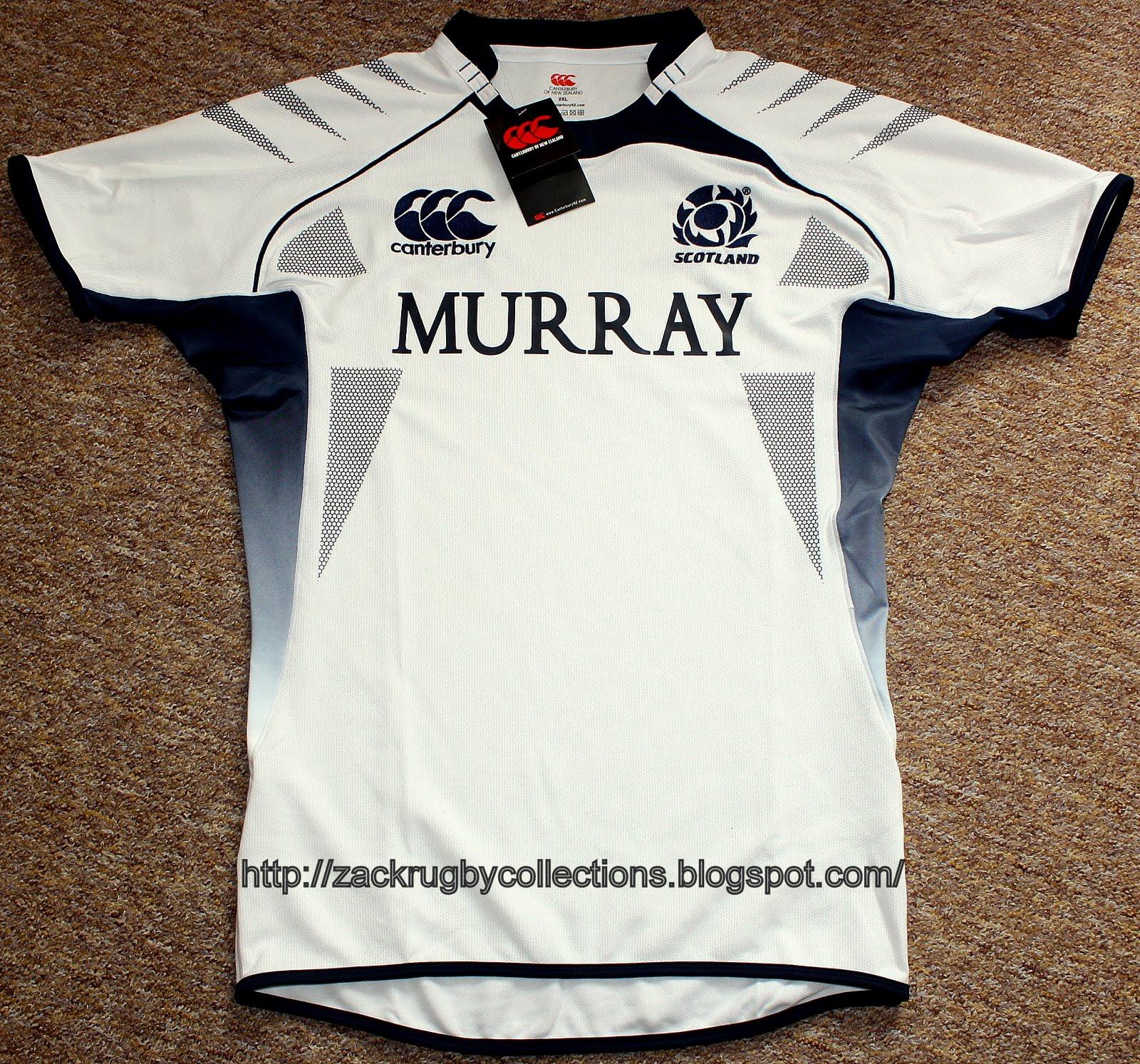 0d01b140e07 Scotland Pro Away 2009/2010 Rugby Jersey