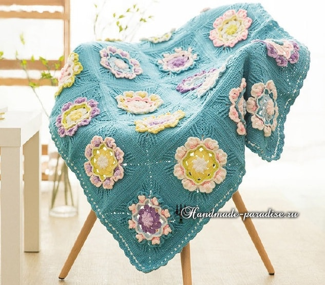 how to crochet bedspreads pdf