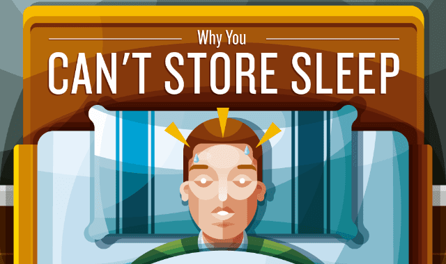 Why You Can't Store Sleep