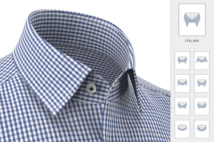 camicia online su misura