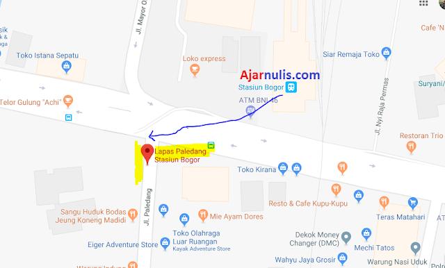 Titik Jemput Ojek Online Gojek-Grab di Stasiun Bogor