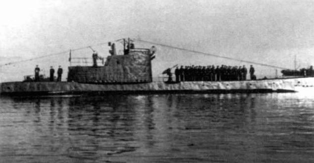 лодка щ-216