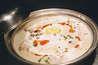 White chicken with garnish Food Recipe Dinner ideas