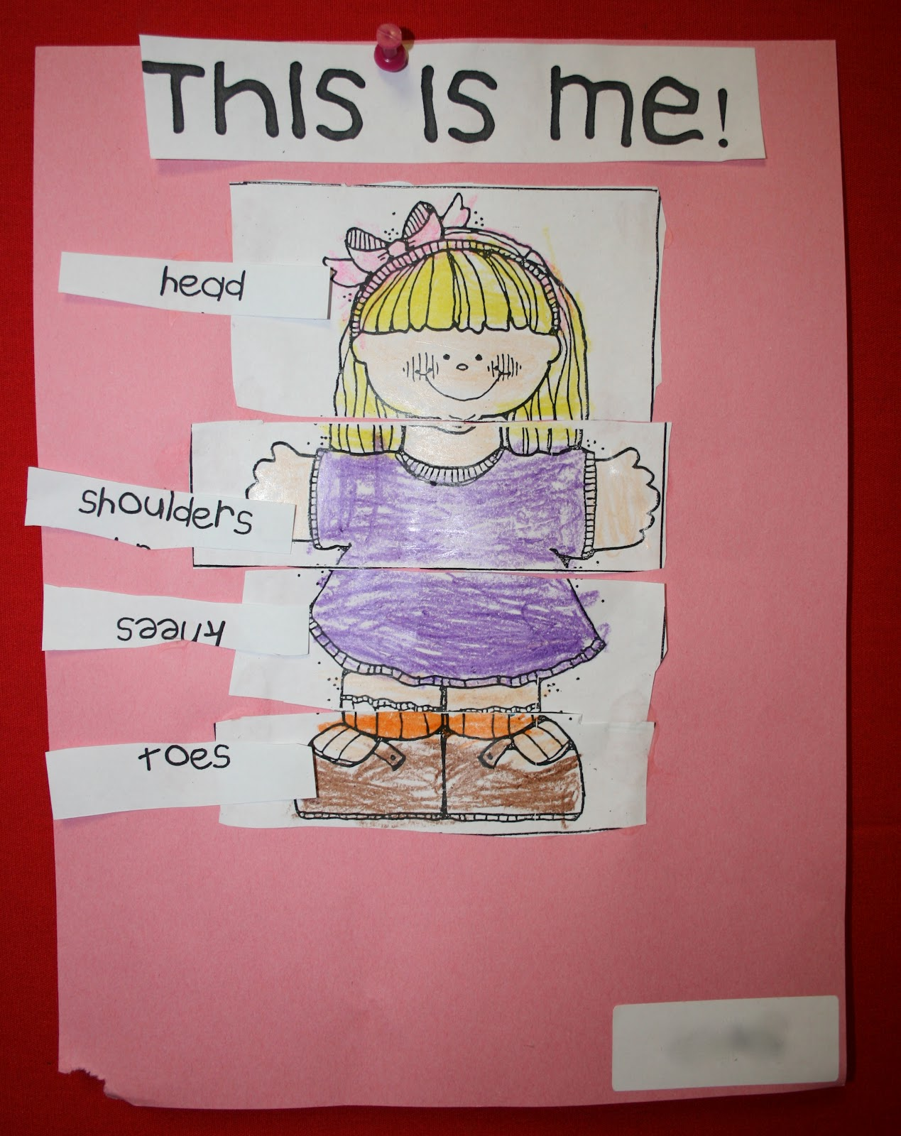 Mrs Mayas Kindergarten All About Me