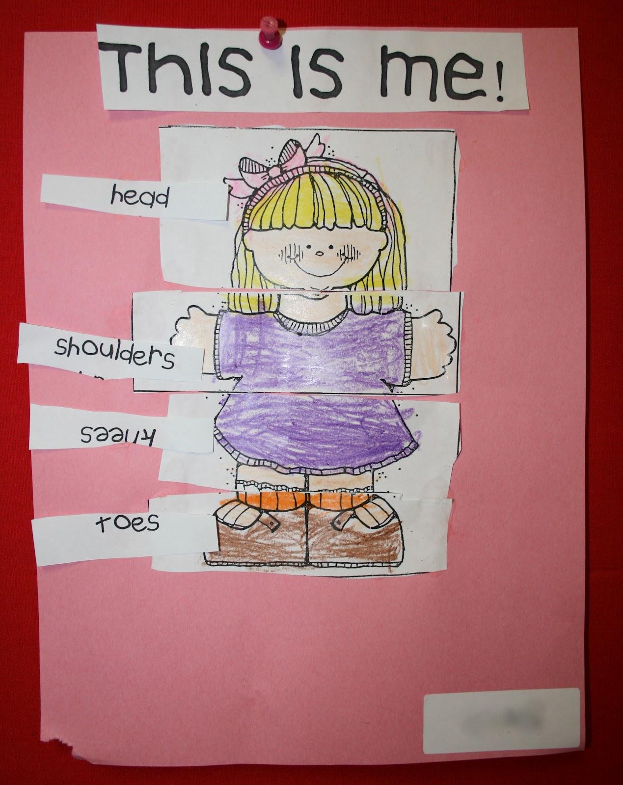 Mrs Mayas Kindergarten All About Me