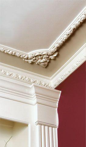 40 Amazing Ceiling Crown Molding Ideas - Decor Units