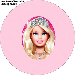 Barbie Life Kit Completo Com Molduras Para Convites Rotulos