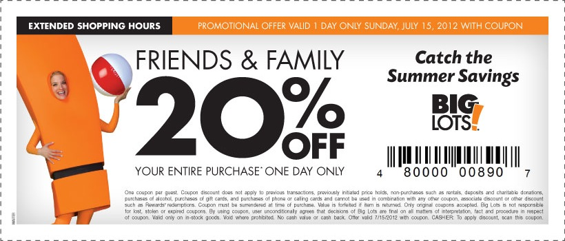 big lots coupon big lots coupons 10103