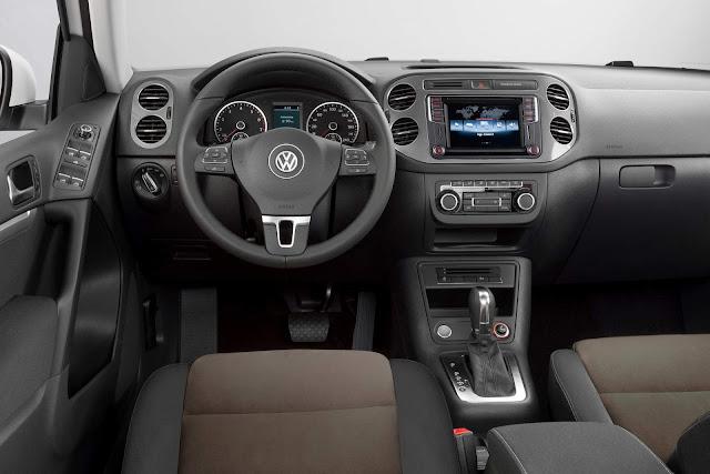 VW Tiguan 1.4 TSI 2017 - interior - painel