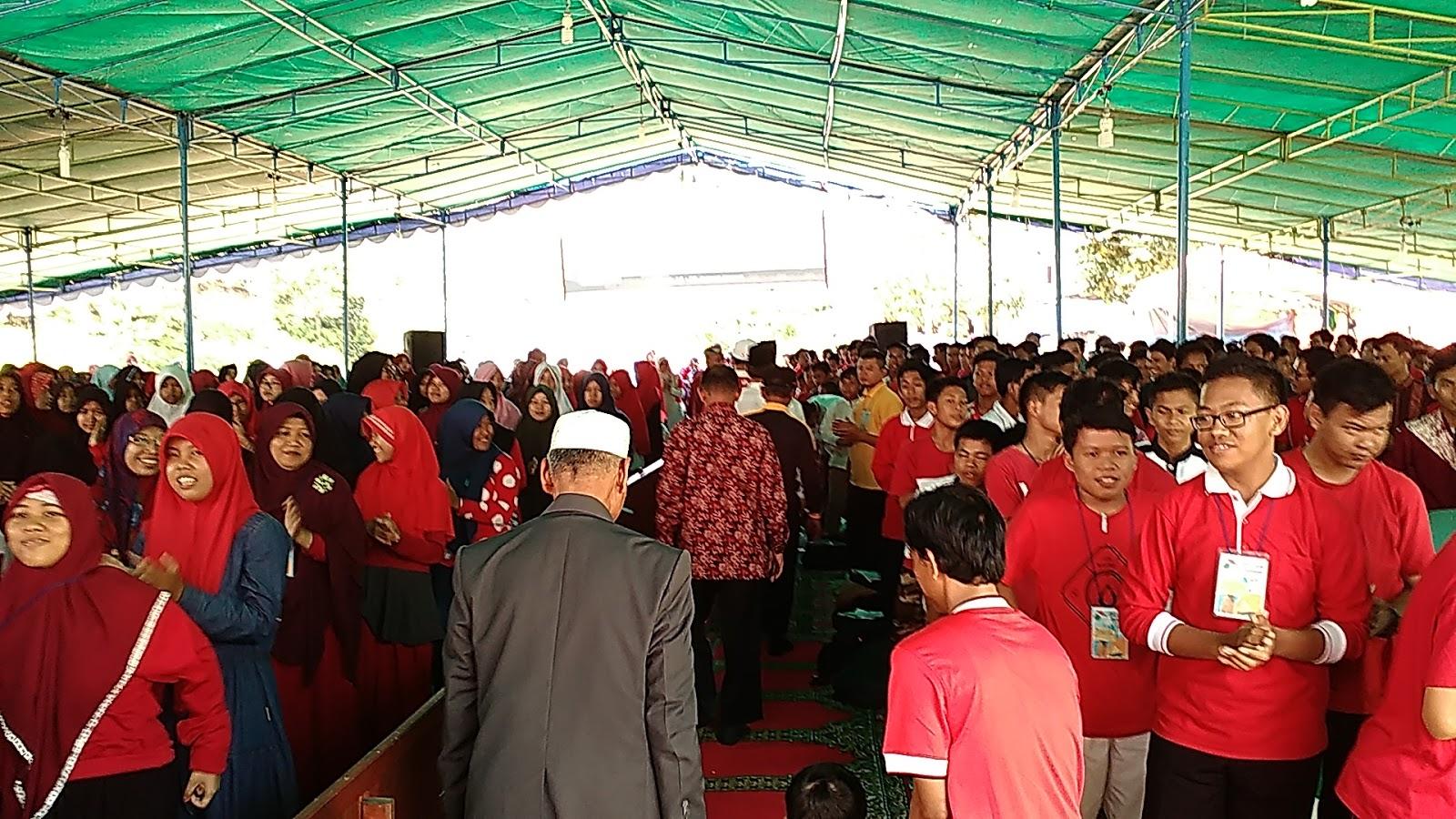 600 Remaja LDII Ikuti Perkemahan Cinta Alam Indonesia