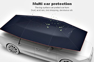 Portable Remote Controlled Car Umbrella