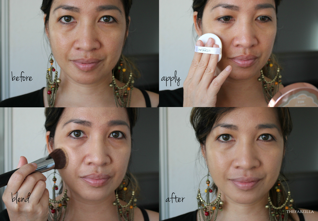 L'Oreal True Match Lumi Cushion Swatch Review, L'oreal Lumi Cushion N3.5 swatch, how to use
