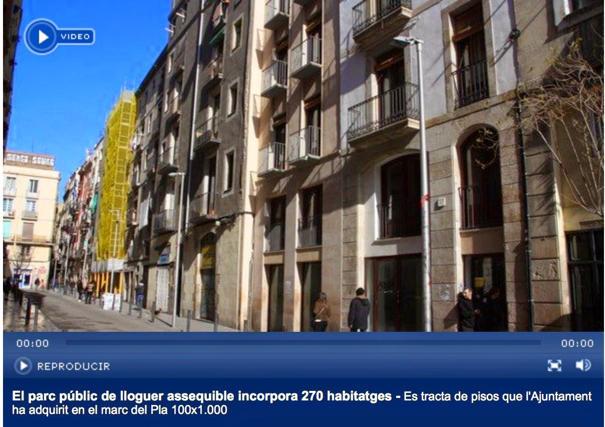 77e4382c4d856 El parc públic de lloguer assequible s incrementa en 270 pisos que  l Ajuntament ha adquirit en comprar 12 finques als districtes de Ciutat  Vella