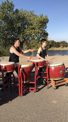 drummers on the course