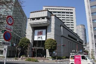 東京証券取引所写真