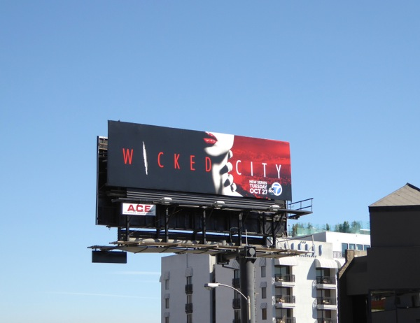 Wicked City series premiere billboard