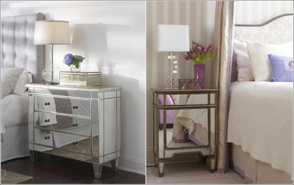 deco chambre interieur fascinantes d corations avec des meubles miroirs. Black Bedroom Furniture Sets. Home Design Ideas
