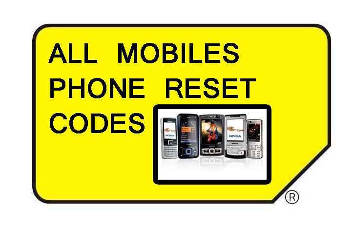 Computer Tips & Tricks: phone reset codes