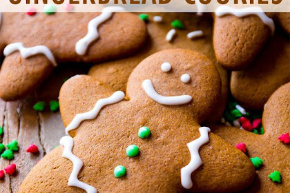My Favorite Gingerbread Men Recipe