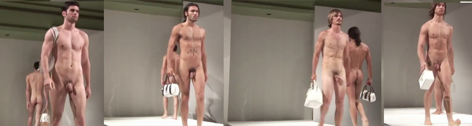 nude models on stage