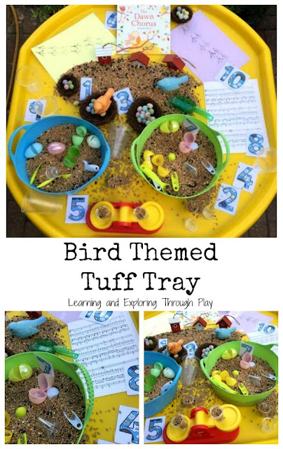 Bird Themed Tuff Tray