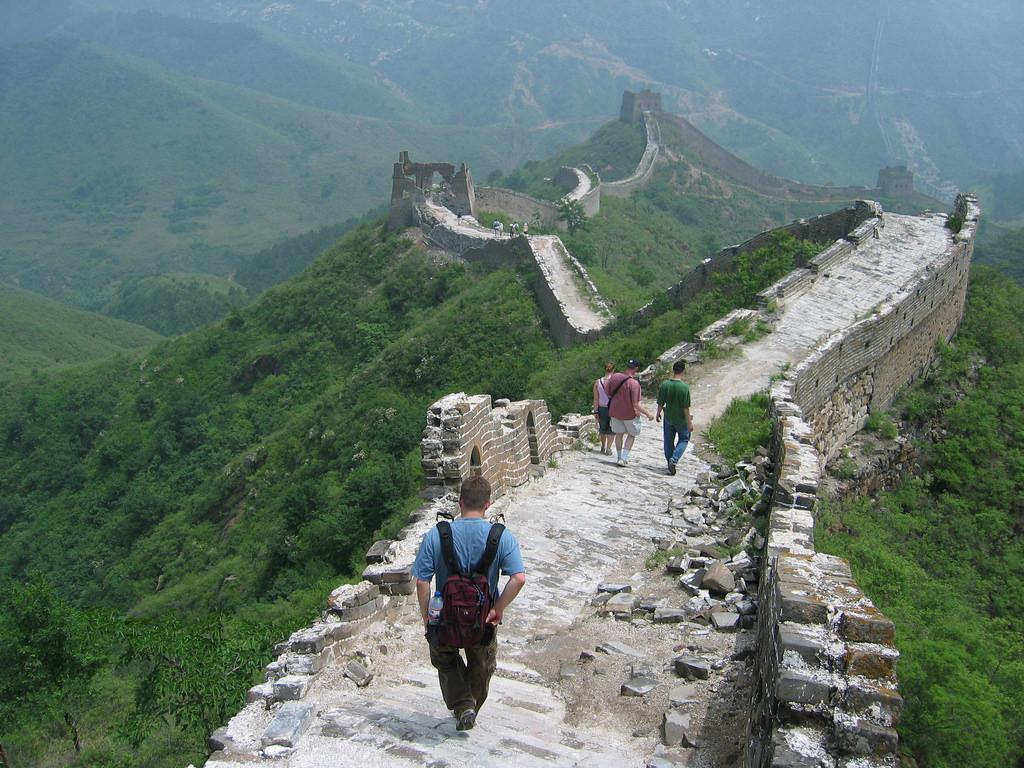 Viajero turismo la gran muralla china de simatai for Q es la muralla china