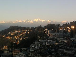 Himalayas From Darjeeling