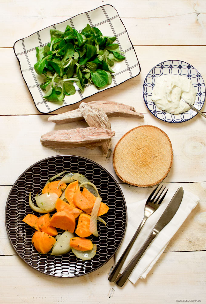 leckeres, einfaches  Süßkartoffel Rezept