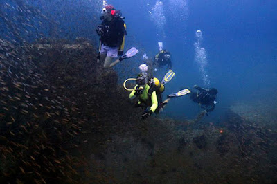 Wreck Diving in Sarawak