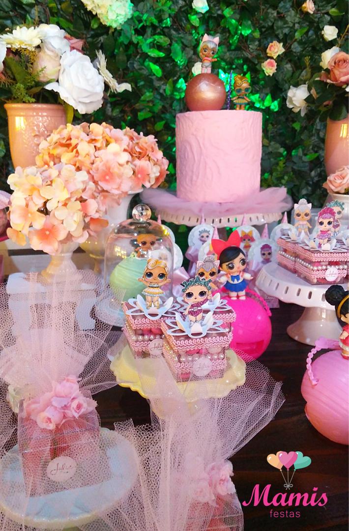 Tema da festa as bonecas LOL Surprise! Guia Tudo Festa Blog de Festas dicas e ideias! -> Decoração De Festa Lol Simples