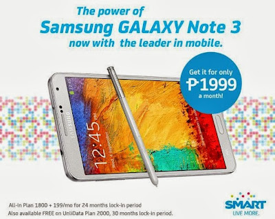 Smart Samsung Galaxy Note 3
