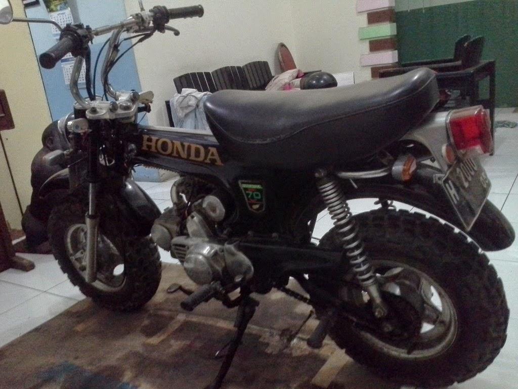 Kumpulan Modifikasi Motor Honda Monkey Terbaru Modifikasi Motor