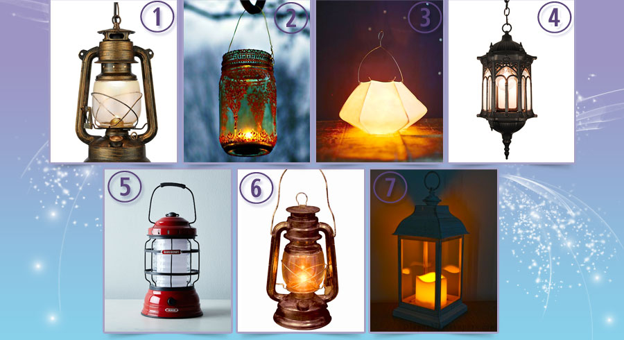 Test: La lámpara que elijas iluminará tu camino. ¿Cuál  eliges?