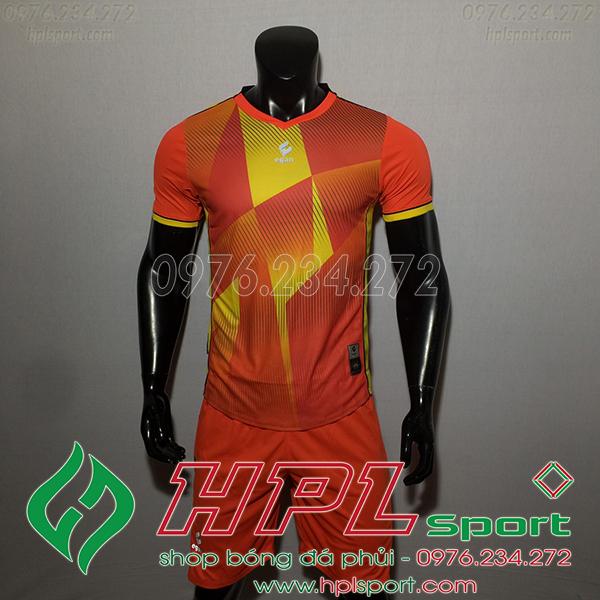 Áo bóng đá không logo Egan CaC màu cam