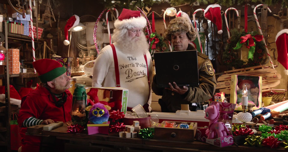 Santa falls victim to the Bah-Hum Bug Virus in Latest Ads by Grey for Norton