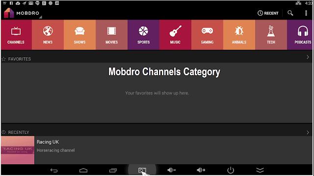 mobdro apk channels