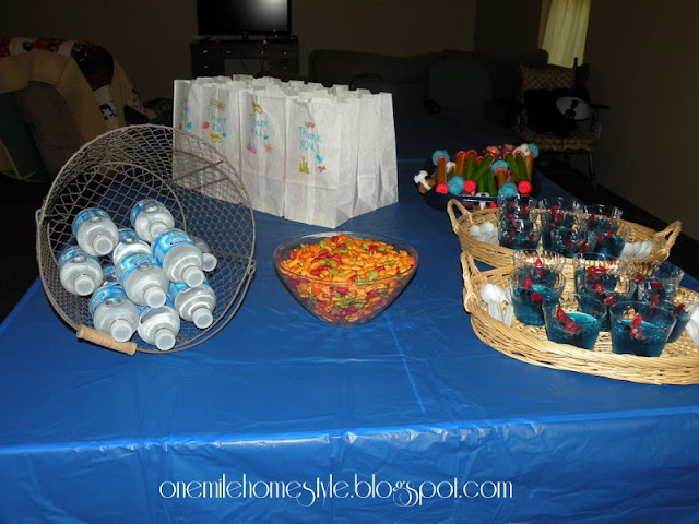 Water theme birthday party