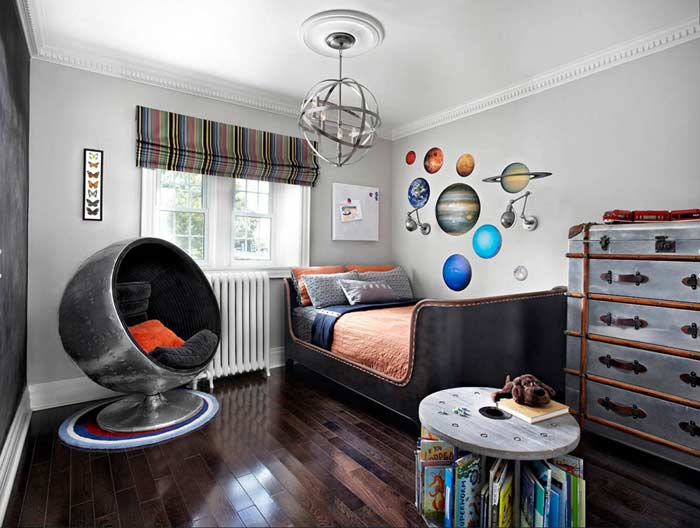 Latest modern boys room design ideas and colors 2019