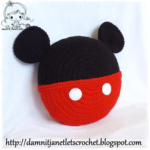 Damn It Janet Lets Crochet Mickey Mouse Earflap Beanie Teen