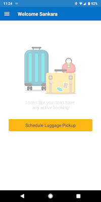 WeCcarryy Luggage Shipping Service