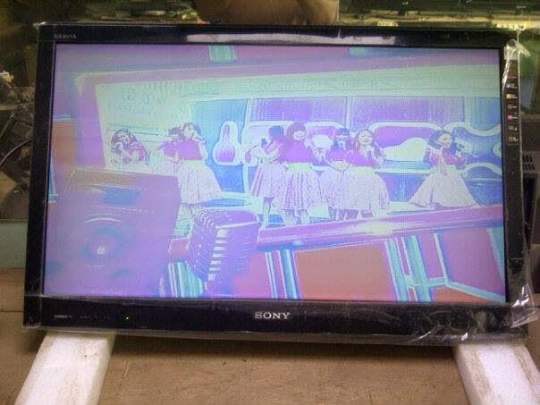 Memperbaiki Tv Lcd Rusak Pudar Duwi Arsana